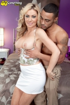 Nothing Strange about Sasha screwing a bigger in size than typical, black cock